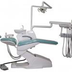 Unituri dentare echipate cu control prin fibră optică.